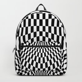Checkered moire II Backpack
