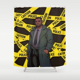 Dream Daddy: Saul Shower Curtain