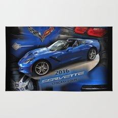 2016 Corvette Stingray Coupe Rug