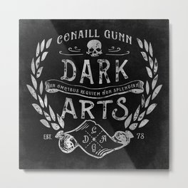 Conaill Gunn Dark Arts ( Omnibus Requiem ) Metal Print