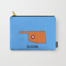 Oklahoma State Heart Carry-All Pouch