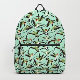 Hummingbirds with Ribbons Backpack
