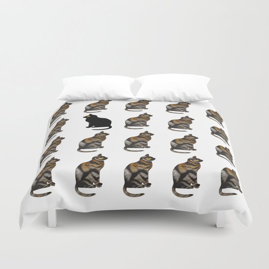 PURRSONAL SPACE CATTERN Duvet Cover