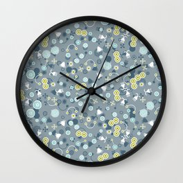 Teaming with Life Wall Clock