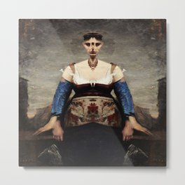Corot Remixed Metal Print