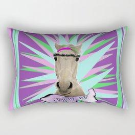 Unibrow Rectangular Pillow