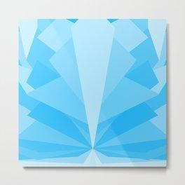 Angular Bloomer - The Glacier Metal Print
