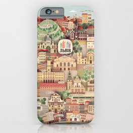 Lviv. Open for the World. iPhone Case