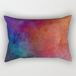 Dimension abstract art by Ann Powell Rectangular Pillow