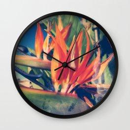 strelizie Wall Clock