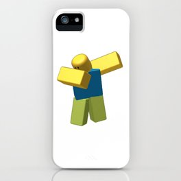 Coolest Roblox Dab Cool iPhone Case