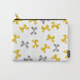 Yellow bow Carry-All Pouch