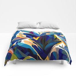 Mountains cold Comforters
