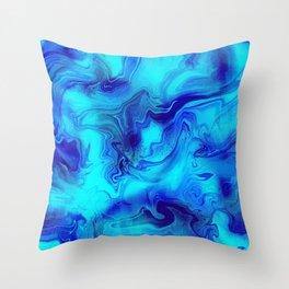 Mystical Paradise Throw Pillow