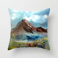 masal dağı Throw Pillow