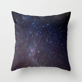 Star Trail Throw Pillow