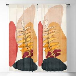 Abstract Minimal Art 38 Blackout Curtain