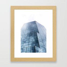 Dallas Skyscraper Framed Art Print