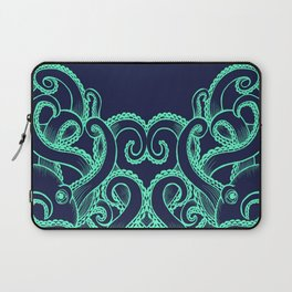 Octopus and the Deep Blue Sea Laptop Sleeve
