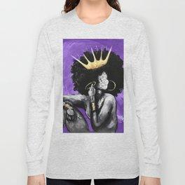Naturally Queen VI PURPLE Long Sleeve T-shirt