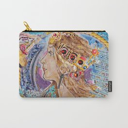 Woman of  Valor Carry-All Pouch