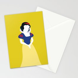 Princess Snow White Stationery Cards
