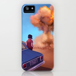 Piromancia iPhone Case
