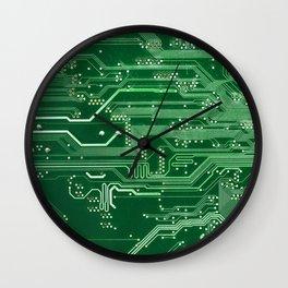 Electronic circuit board Wall Clock