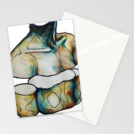 torso boy Stationery Cards