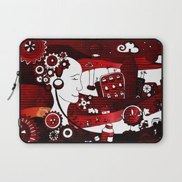 urban-city in a dream Laptop Sleeve