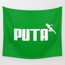 PUTA - PUMA PARODY Wall Tapestry