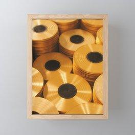 Vinyl Collection Framed Mini Art Print