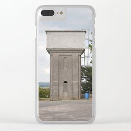 Ringville - Water Towers of Ireland Clear iPhone Case