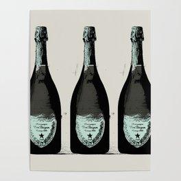 Dom Perignon Champagne Poster