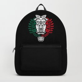 Aztec Ancestor Sculpture - Mexican Warrior - Mexico Roots Backpack