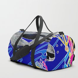 Vaquita Porpoises In Sea life Wreath Duffle Bag