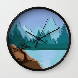 My Nature Collection No. 38 Wall Clock