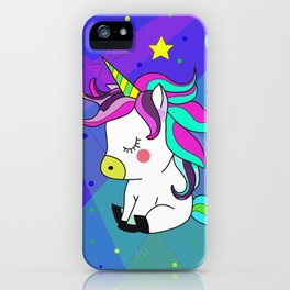 Love Unicorn iPhone Case