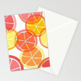 Sumemr Citruses Stationery Cards