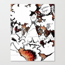 Equalia Canvas Print
