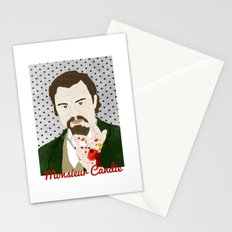 Monsieur Candie from Django Unchained Stationery Cards