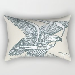 Rise In Art We Trust 2 Rectangular Pillow
