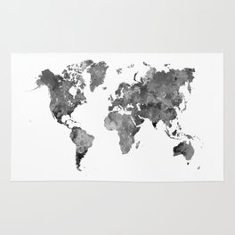 World Map Rugs | Society6