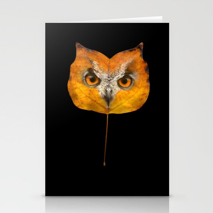 Autumn Owl-1 Stationery Cards