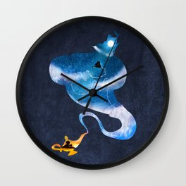 Greater than all the magic Wall Clock