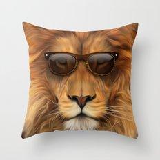 'king Cool MkII Throw Pillow