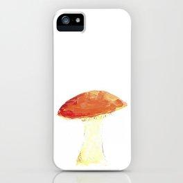 Pacific Northwest Edible Mushroom Chart - Fungi Oil Painting iPhone Case