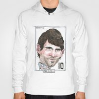 messi Hoodies featuring MESSI by BANDY