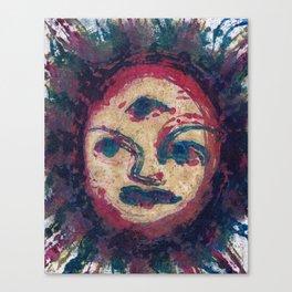 The sun is a harsh mistress Canvas Print