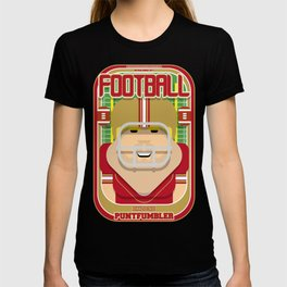 American Football Red and Gold - Enzone Puntfumbler - Sven version T-shirt